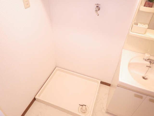 ラフィネ I 4階 洗濯機置場