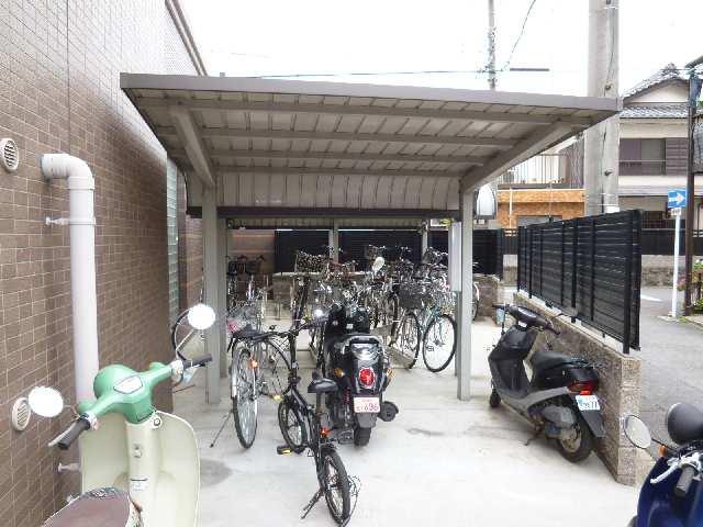グランデージ則武 7階 駐輪場