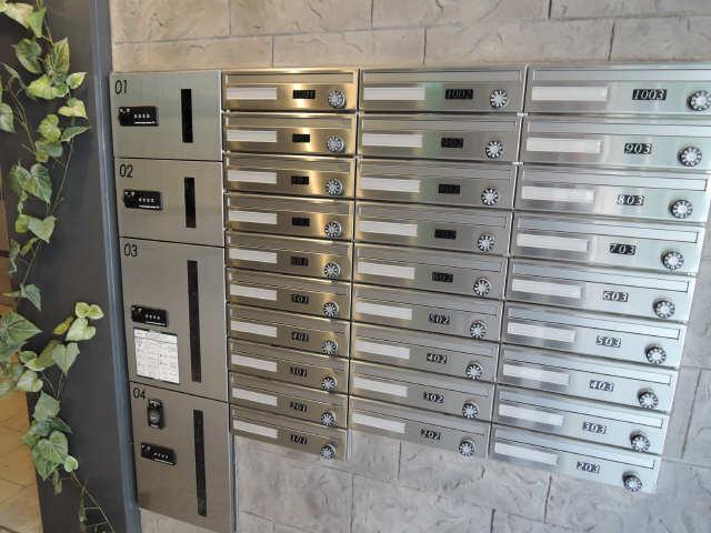 ドゥナーレ畑江通 3階 宅配ボックス、ポスト