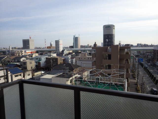 エステート岩塚 7階 眺望