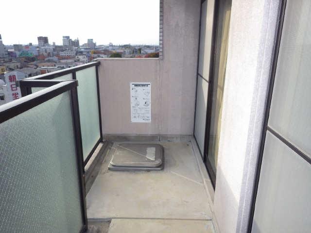 エステート岩塚 8階 バルコニー