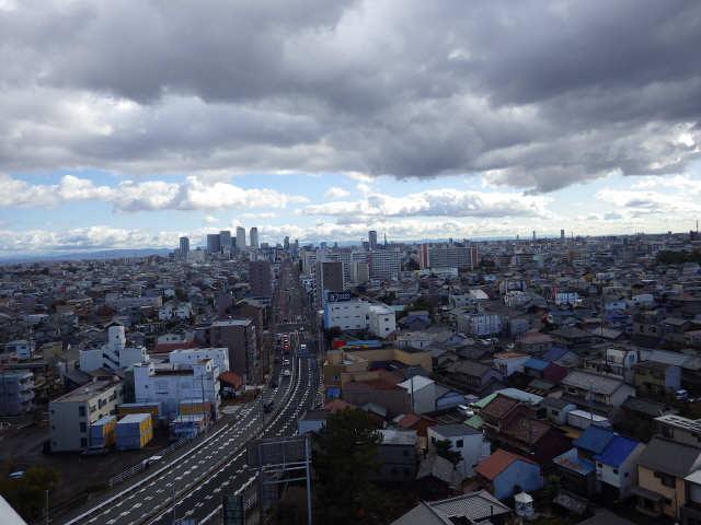 宝稲葉地ハイツ1406号 14階 眺望
