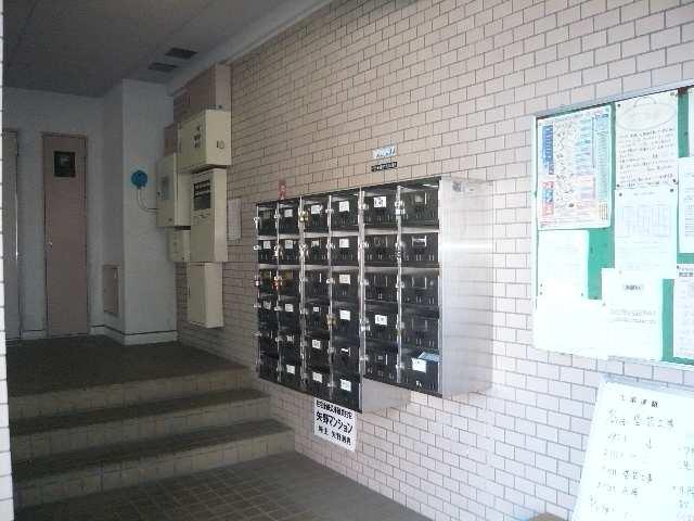 矢野マンション 1階 集合ポスト