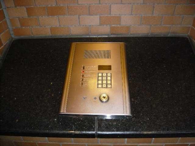 茶屋ヶ坂パークマンション 8階 オートロック操作盤