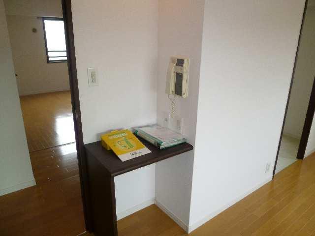 茶屋ヶ坂パークマンション 8階 インターホン