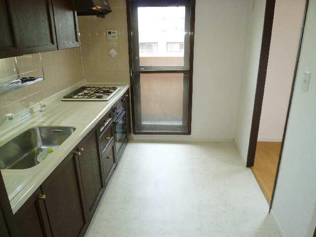 茶屋ヶ坂パークマンション 8階 キッチン