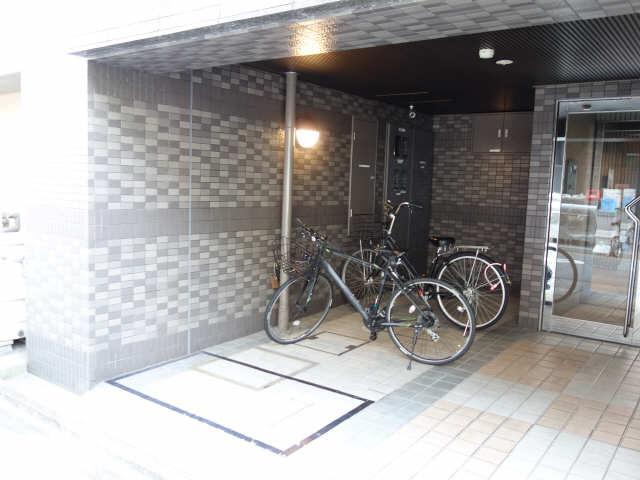 casa桜・千種 3階 駐輪場