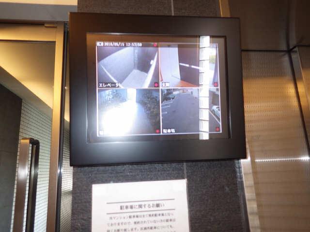 パルティール覚王山 4階 セキュリティ