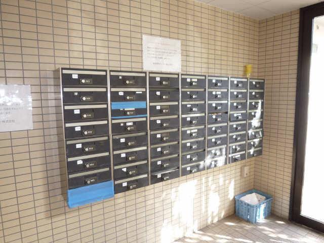 セントラルハイツ堀田 2階 郵便受け