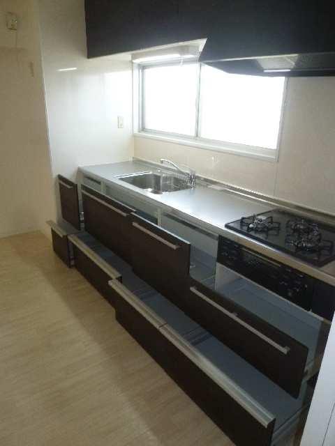 ドミール汐路 3階 キッチン