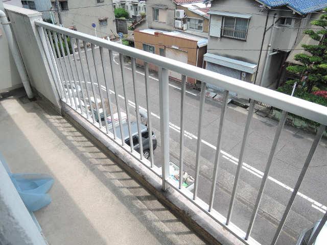 コーポ黒川 2階 バルコニー