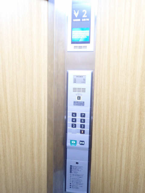 パークハイツ楠 7階 エレベーター