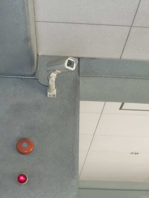 メゾン黒川 7階 駐車場カメラ