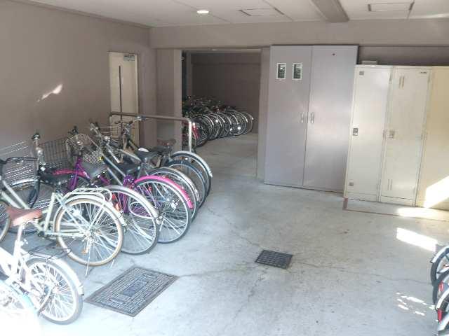 ウェステリア西大須 2階 駐輪場