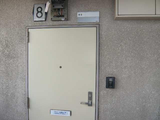 水主町ロイヤルハイツ 8階 玄関