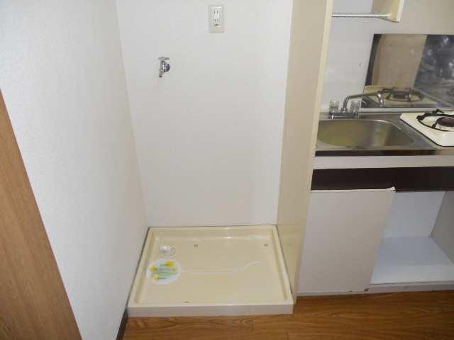 水主町ロイヤルハイツ 8階 洗濯機置場