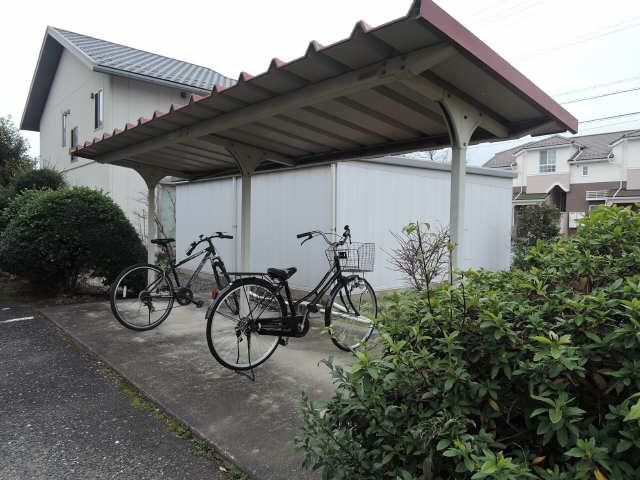 古田コーポ 3階 駐輪場