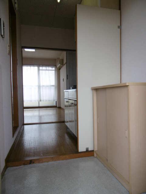 古田コーポ 3階 玄関