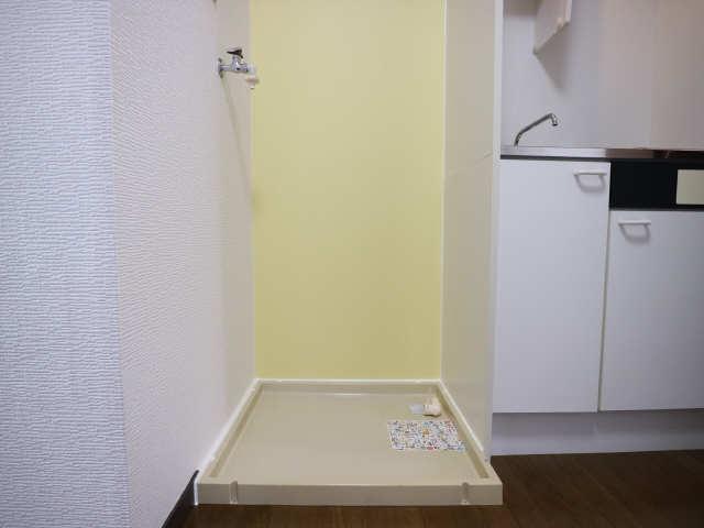 オーチャード・コート 2階 洗濯機置場