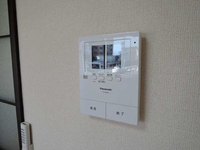 プチメゾン辰 1階 モニター付インターホン
