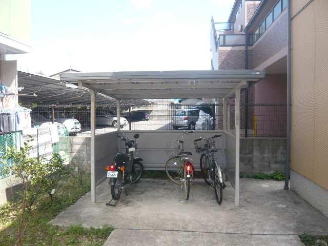 エクレール田面 1階 駐輪場