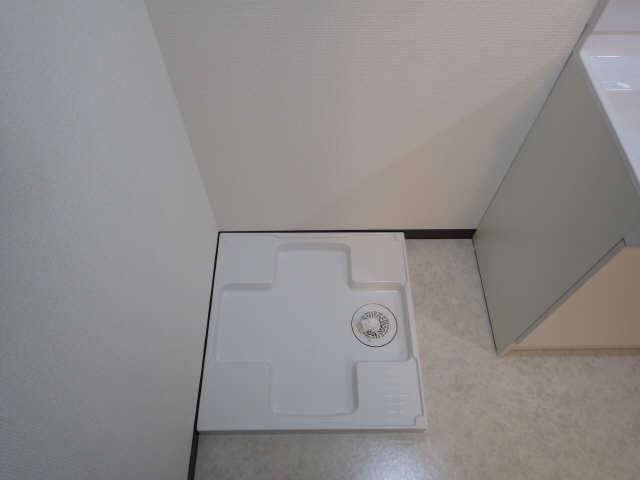 グリーンマンション 1階 洗濯機置場