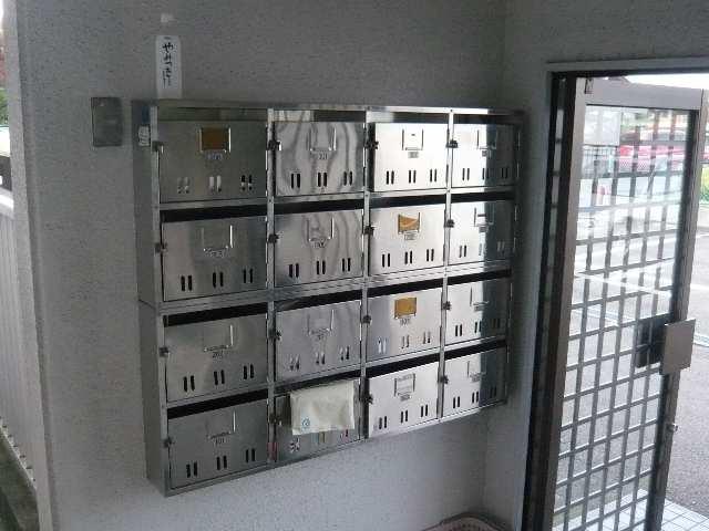 レストポイント園山 1階 集合ポスト