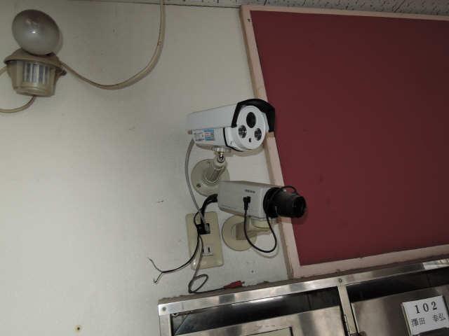 メゾン河合 3階 防犯カメラ