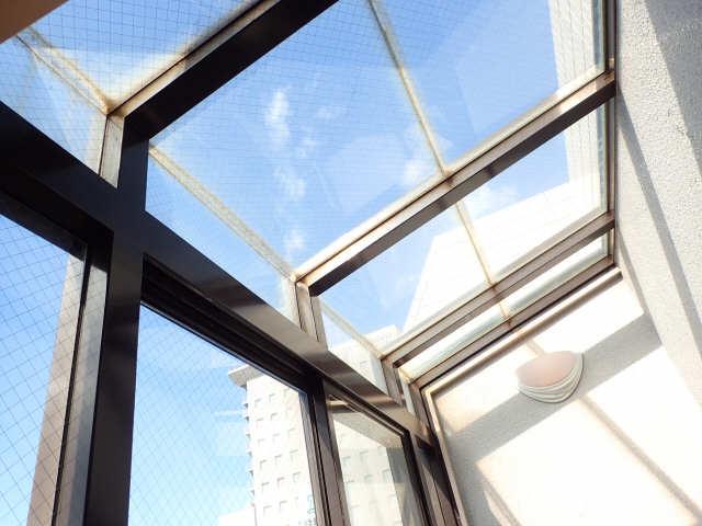 ハイツ金山 7階 バルコニー屋根