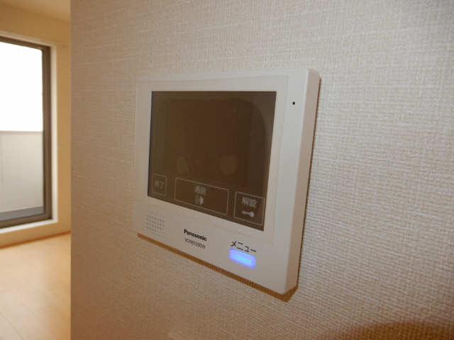 Maison西高蔵West 3階 モニター付きインターホン