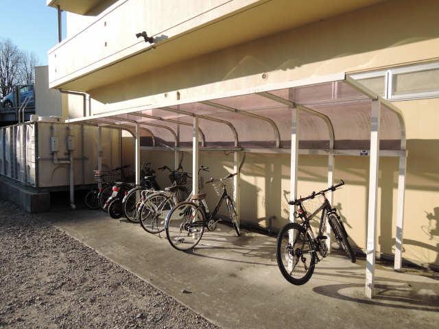 パレスHAKUHO 8階 駐輪場