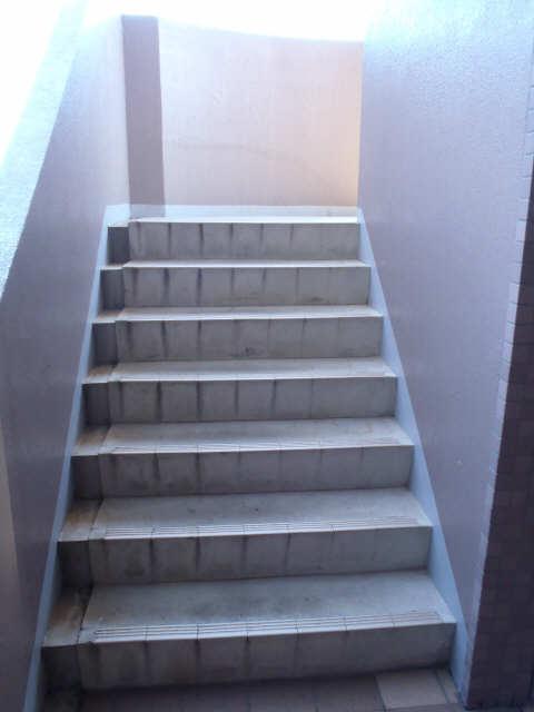 エクセルナカゼン 2階 共用階段
