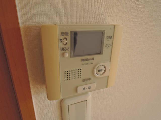 カーサヴェルデ 4階 モニター付インターホン