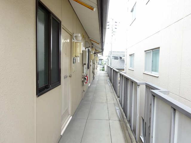 ポートタウンA・B 2階 2階共用廊下