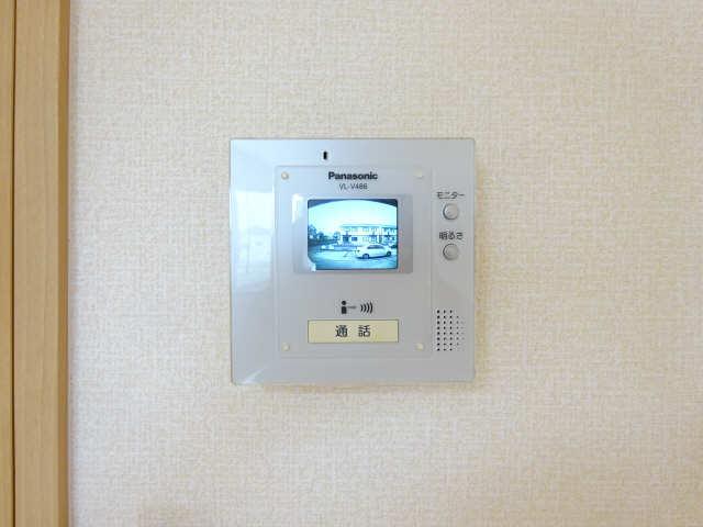 シャルム マノワールB 1階 モニター付きインターホン