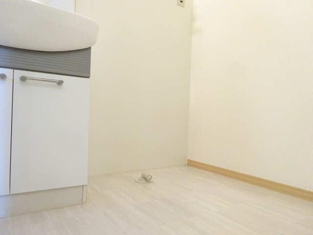 シャルム マノワールB 1階 洗濯機置場