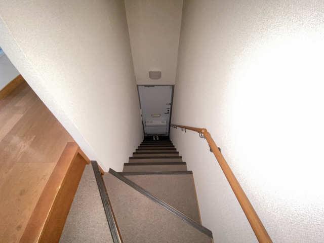 レオパレス和楽 2階 階段