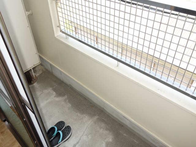 緑園第2サンコーポ 3階 バルコニー