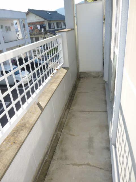 メゾンドジョイフル 2階 バルコニー