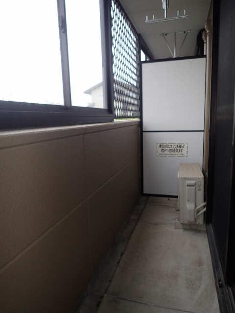ボア・ソルテ 1階 ベランダ