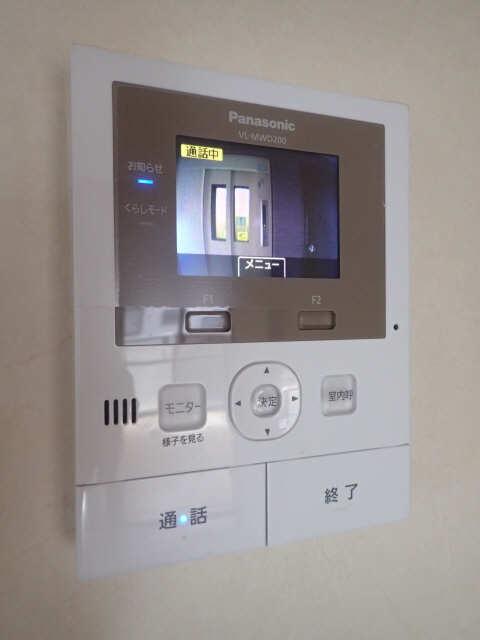 ファミール西浜田南館 1階 モニター付インターホン
