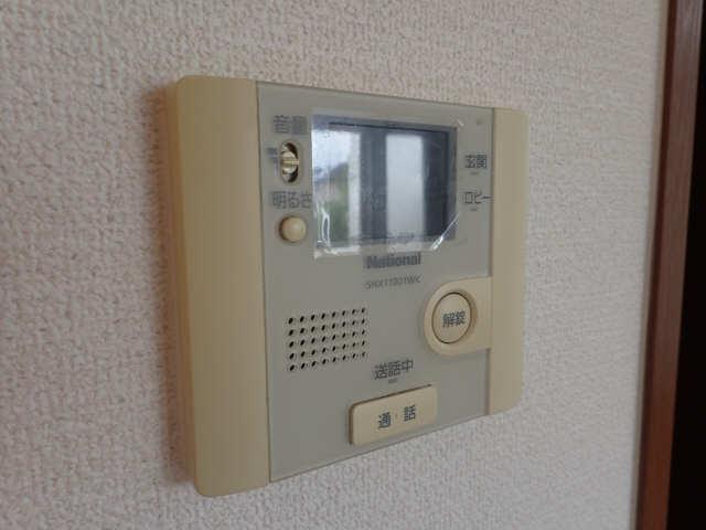 ラポールSAKURA 1階 モニター付きインターホン