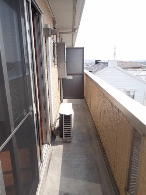 ラポールSAKURA 3階 ベランダ