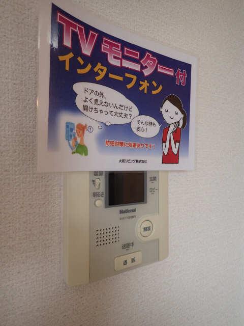 ラポールSAKURA 3階 モニター付インターホン