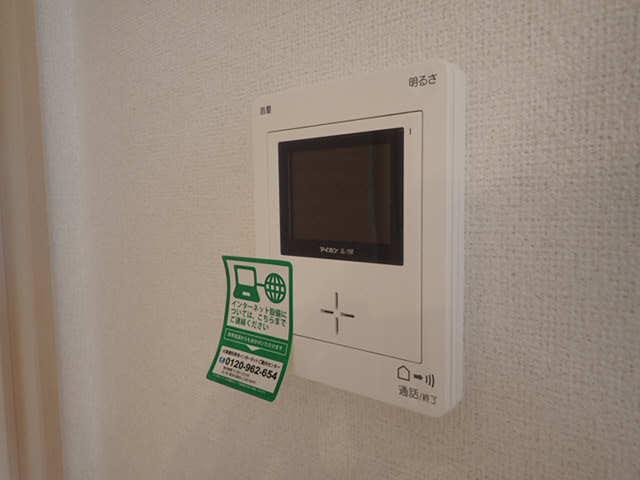 ミュアフィールドⅠ 1階 モニター付きインターホン