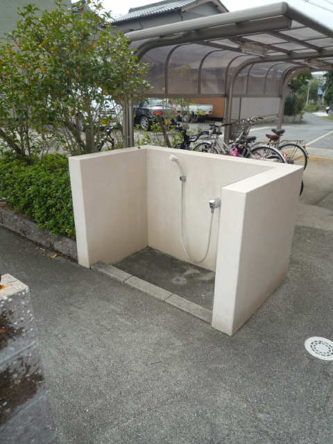 ファイーブ土穴 4階 ペット足洗い場