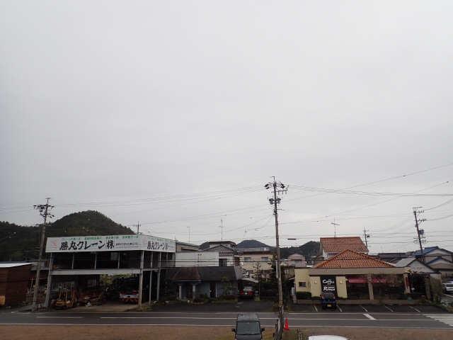 神山ハイツ 2階 眺望