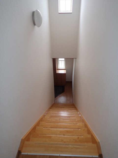 カーサアイリス D棟 2階 階段