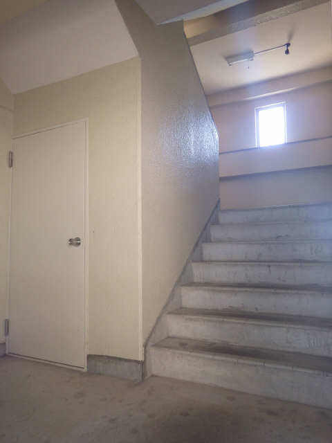 シャトー岐大 A棟 3階 階段