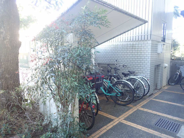 本郷パークマンション 403号 駐輪場